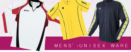 mens' volleyball ware / unisex volleyball ware
